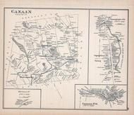 Canaan, New Hampshire State Atlas 1892 Uncolored